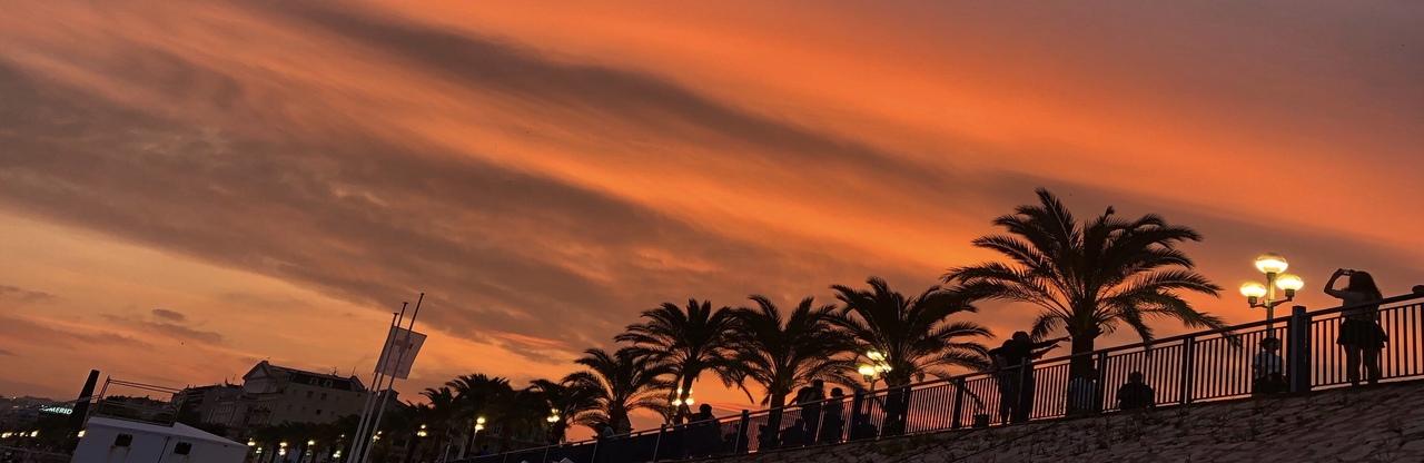 Nizza Strandpromenade Promenade des Anglais