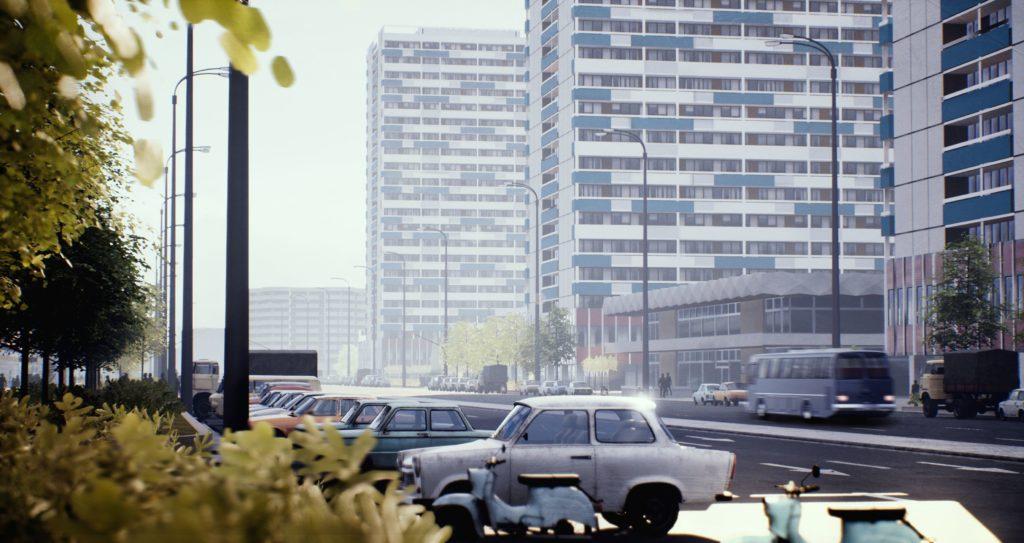 Ostberlin Leipziger Straße TimeRide Berlin Grenzübergang geteiltes Berlin Zeitreise