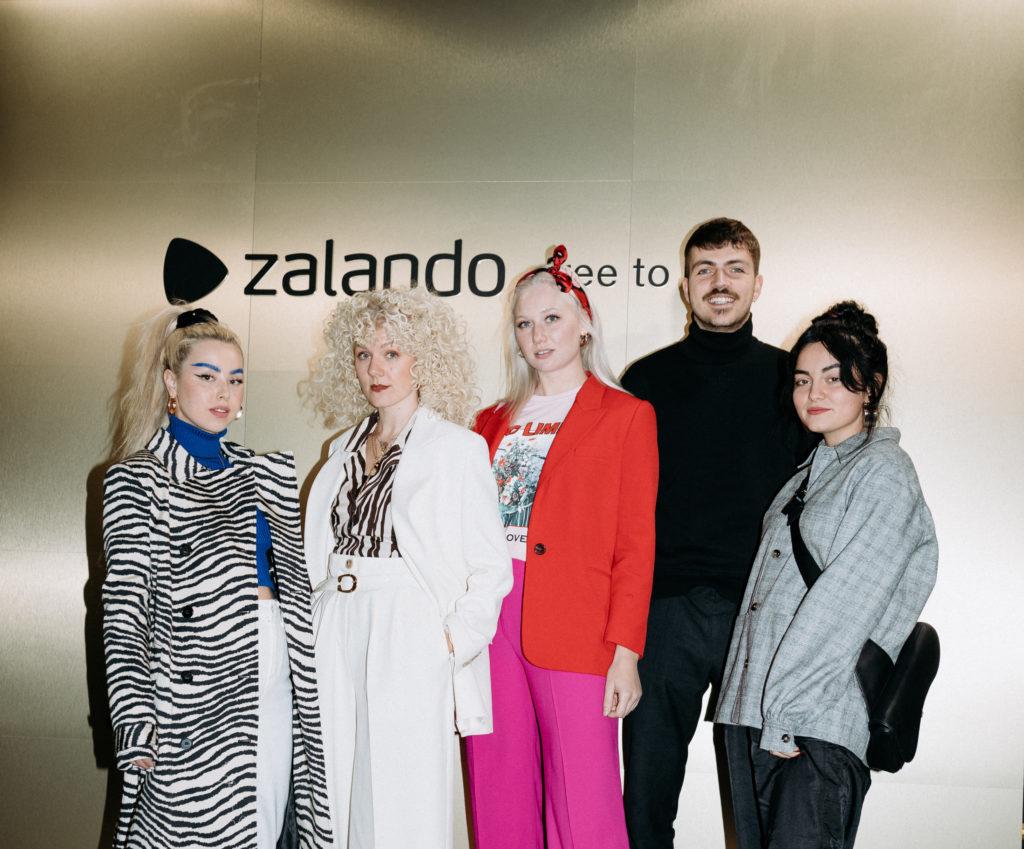 Zalando free to be neue Kampagne zum Season Start im Provocateur Berlin Gruppenbild
