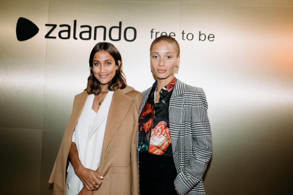 Zalando free to be neue Kampagne zum Season Start im Provocateur Berlin Moderatorin Rabea Schif und Model Adwoa Aboah
