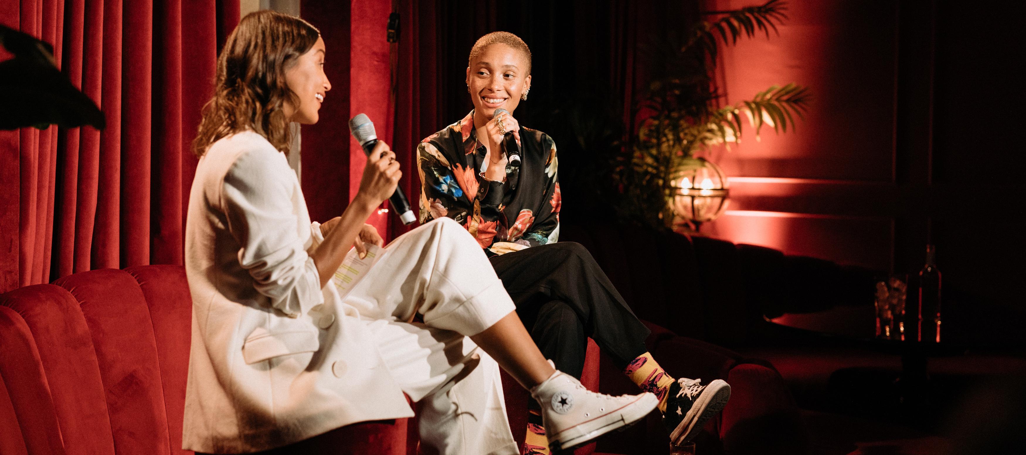 Zalando free to be neue Kampagne zum Season Start im Provocateur Berlin Panel Talk Adwoa Aboah