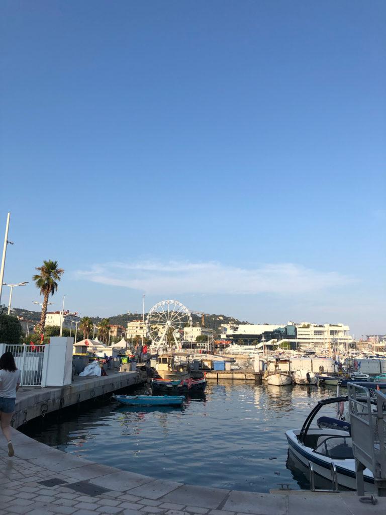 Cannes Hafen Côte d'Azur