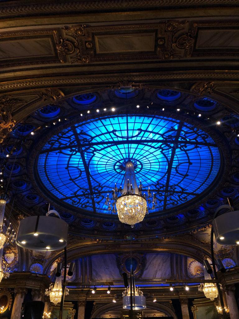 Monaco Casino Royale Monte Carlo blaues Fenster