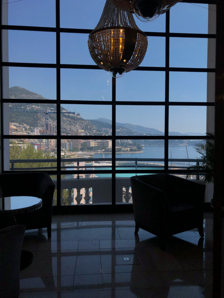 Monaco Casino Royale Monte Carlo Ausblick Terrasse