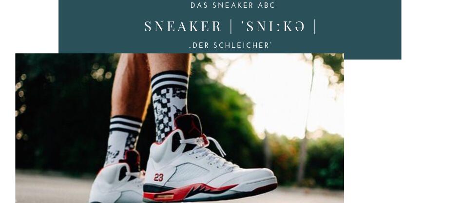 Sneaker ABC Sneaker Begriffe Lexikon Jordan Sneaker Jumpman