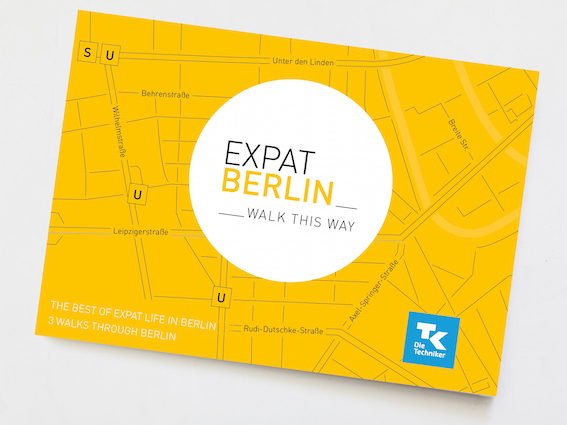 Die Expat Berlin Map von Walk This Way Berta Berlin