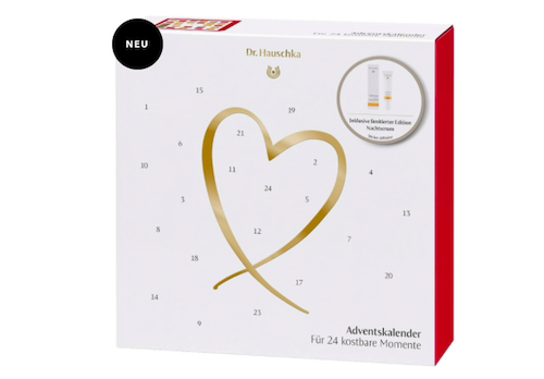 Der Dr. Hauschka Beauty Adventskalender 2019.