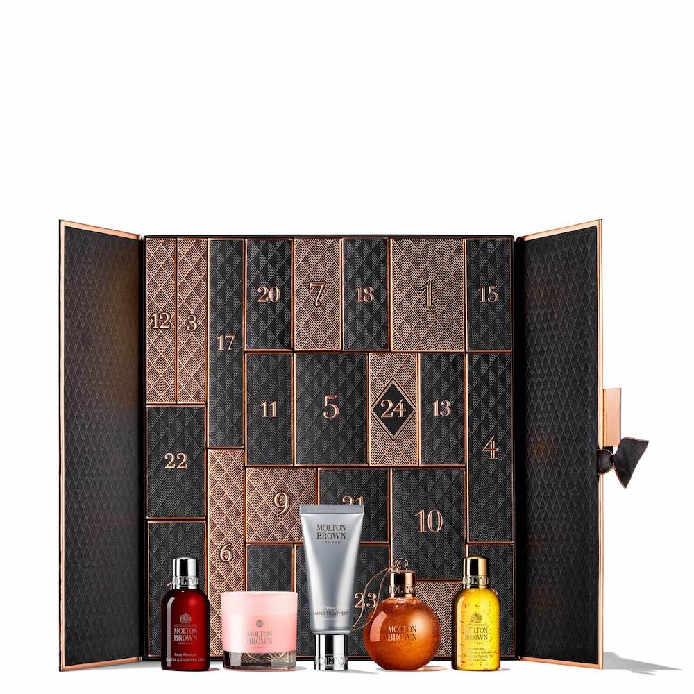 Der Molton Brown Beauty Adventskalender 2019.