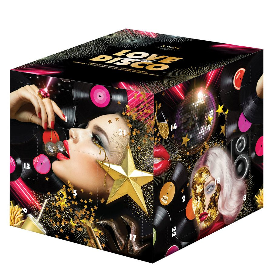 Der Nyx Beauty Adventskalender 2019.