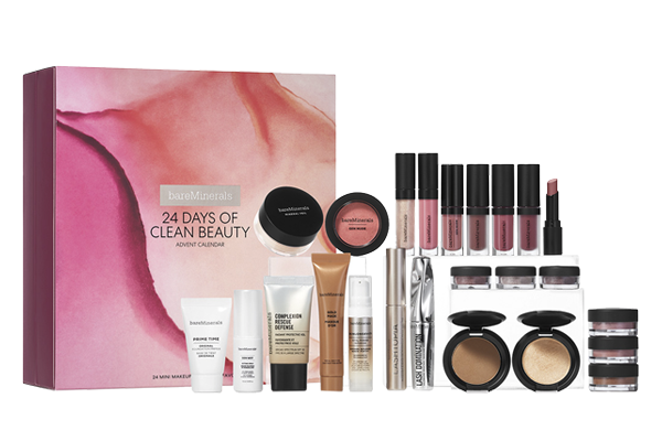 Der Bare Minerals Beauty Adventskalender 2019.