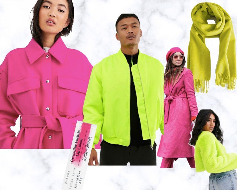 Herbststyles 2019 Neon und Fuchsia Mäntel und Jacken Trends Bekleidung