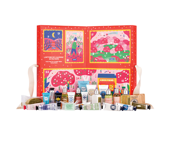 Der Loccitane Beauty Adventskalender 2019.