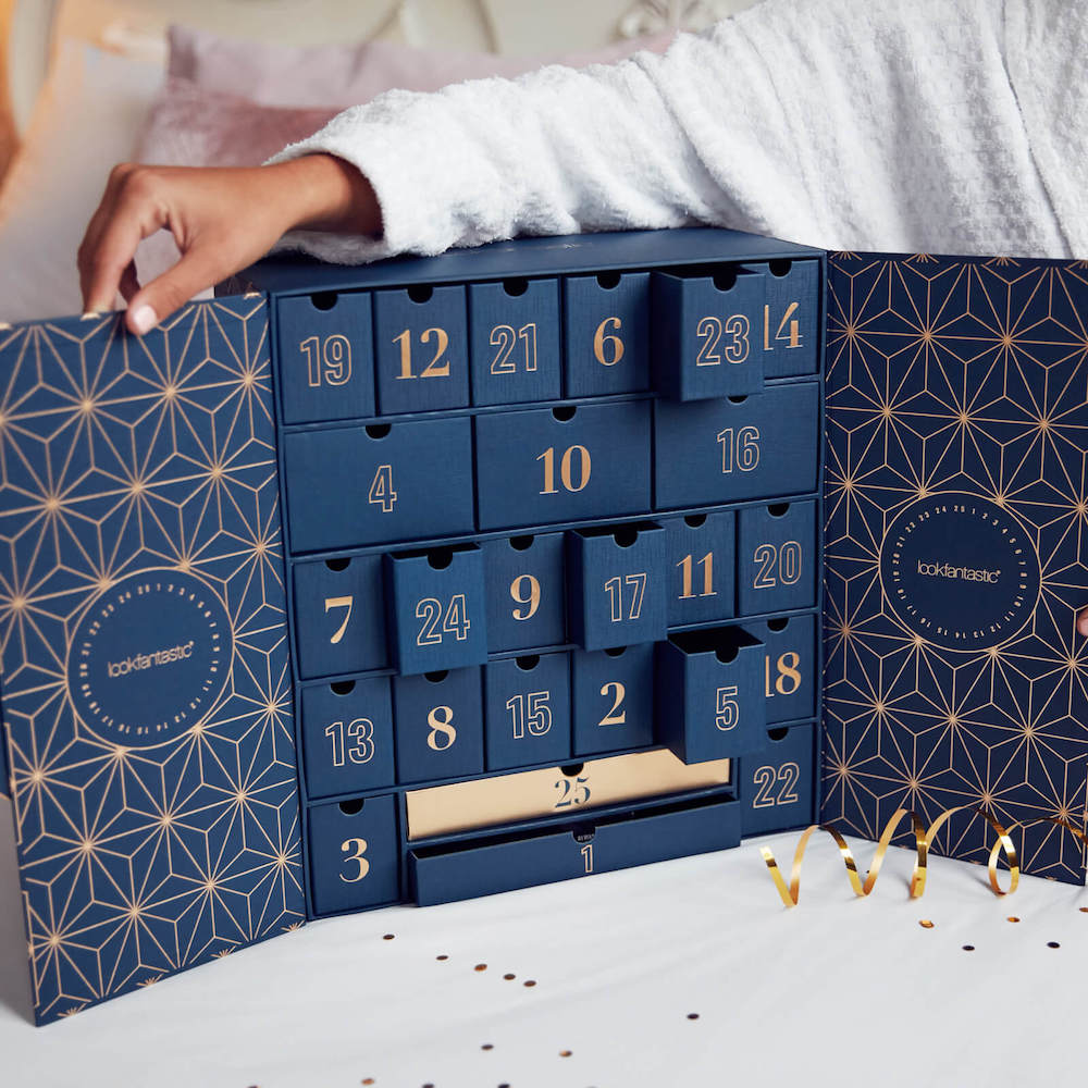 Der Lookfantastic Beauty Adventskalender 2019.