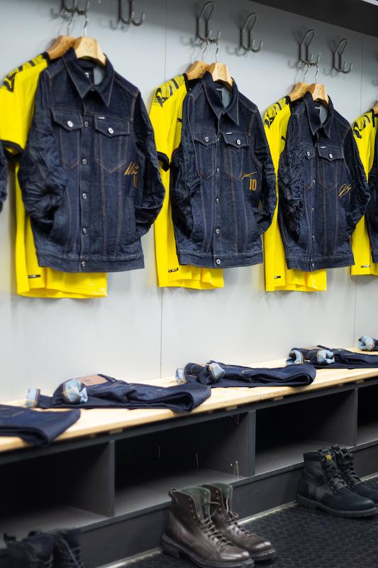 G-Star RAW x Borussia Dortmund Kampagne mit BVB Dortmund Spieler Axel Witsel, Mario Götze, Julian Weigl und Mo Dahoud