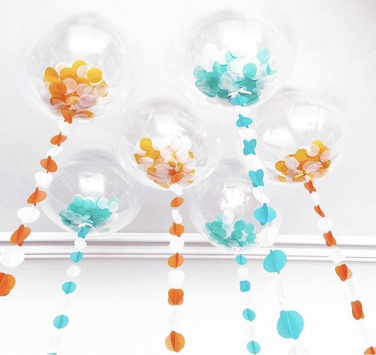 Luftballons von BOOOM BALLOON Gründerin Paloma Cheyenne Bradtke