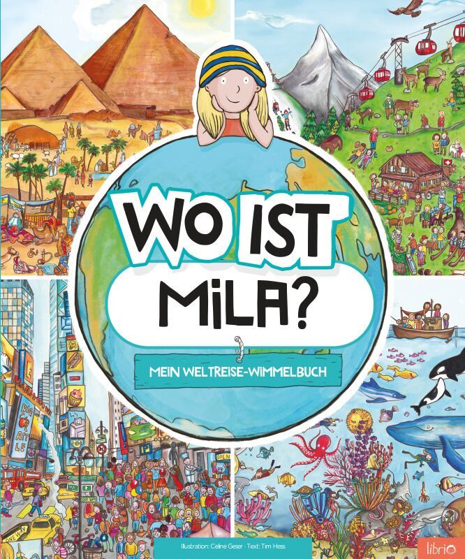 Personalisierte Kinderbücher von Librio