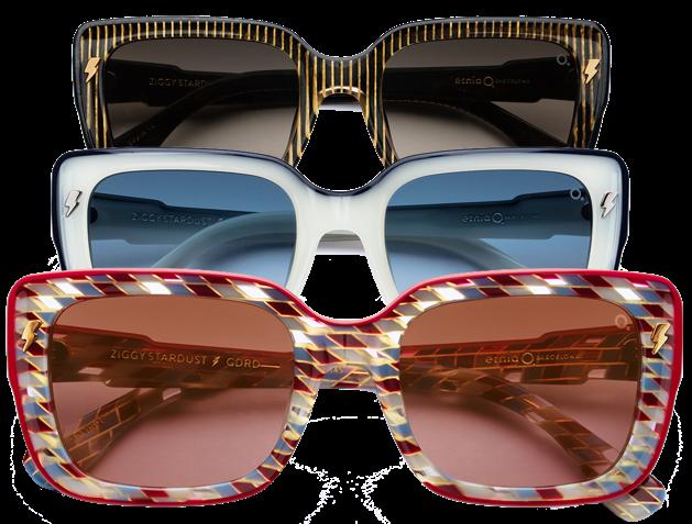 Etnia Barcelona Herbst Winter 2019 Kollektion Sonnenbrillen David Bowie Inspiration