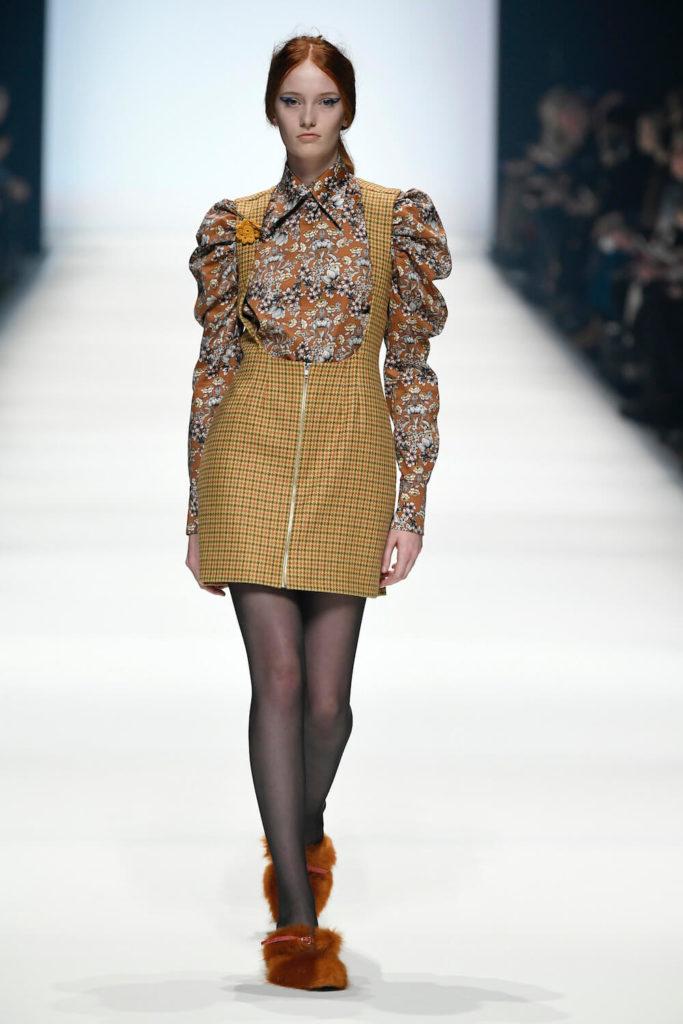 Die Herbst/Winter Kollektion 2020-2021 auf der Fashionweek in berlin von Danny Reinke.