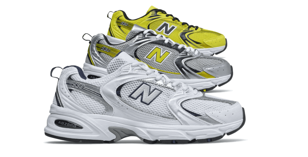 Fashion News mit New Balance 530 Sneaker Trend auf Instagram