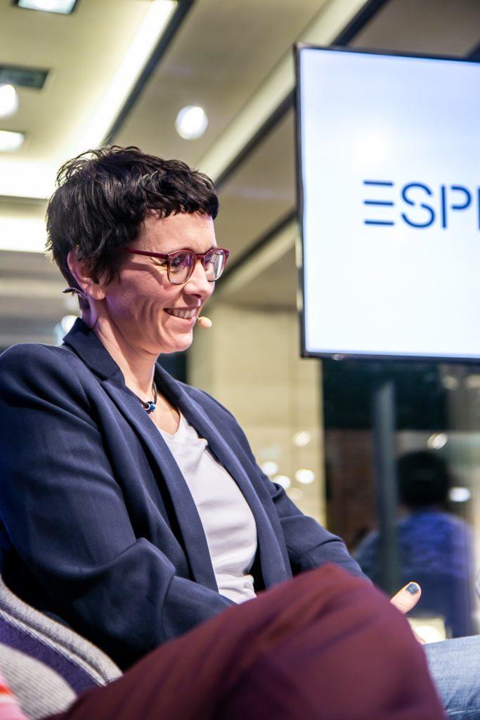 Teilnehmerin Almut Schnarrenberger Equal Care Day Initiatorin im Panel Talk mit Esprit und UN Women für Frühlingskampagne 2020 #YouRule für Gender Equality