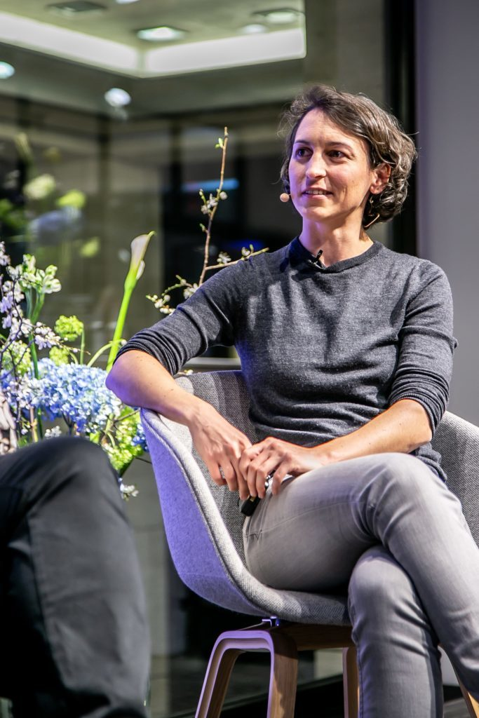 Teilnehmerin Natascha Wegelin im Panel Talk mit Esprit und UN Women für Frühlingskampagne 2020 #YouRule für Gender Equality