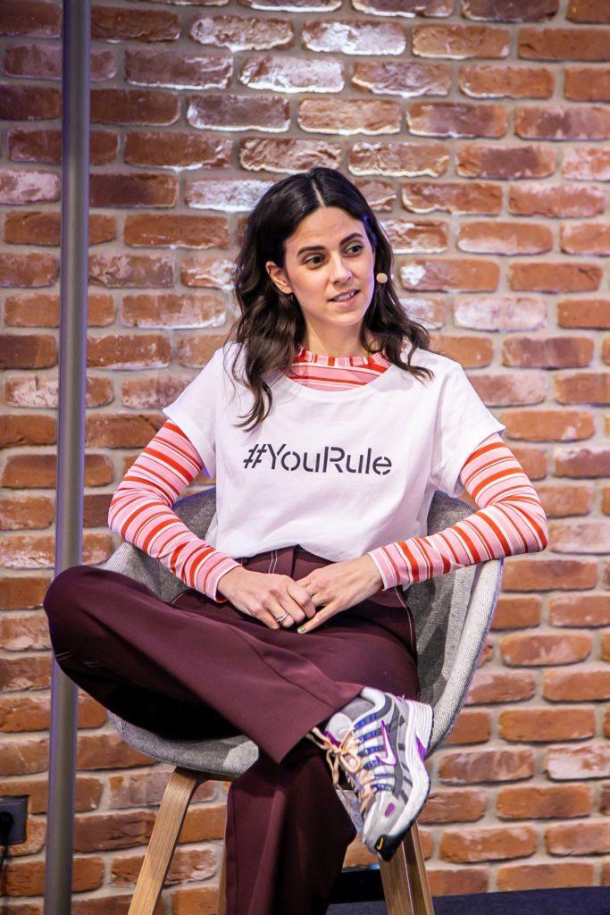 Teilnehmerin Nike van Dinther im Panel Talk mit Esprit und UN Women für Frühlingskampagne 2020 #YouRule für Gender Equality