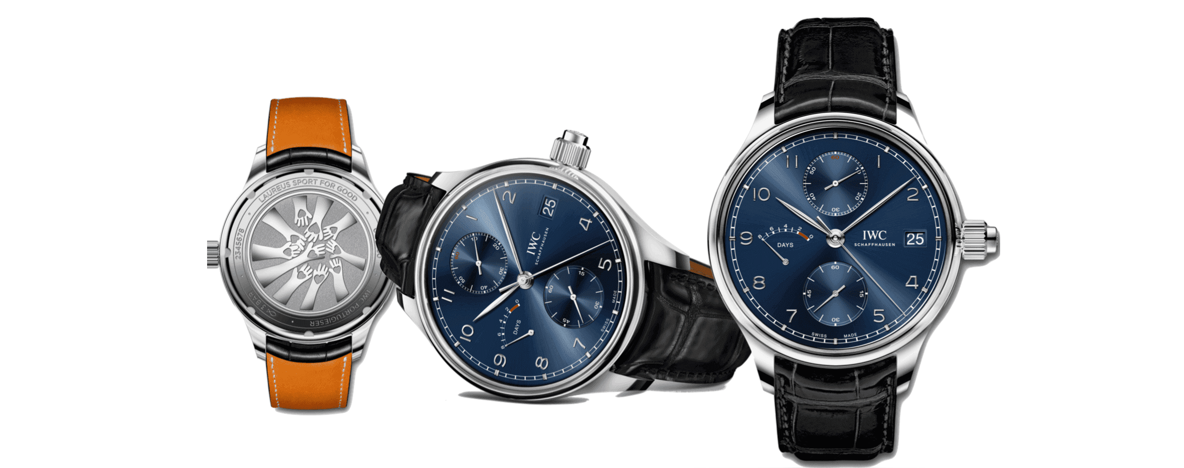 IWC Schaffhausen Uhr in der 14.Sonderedition für die 20. Laureus World Sports Awards 2020