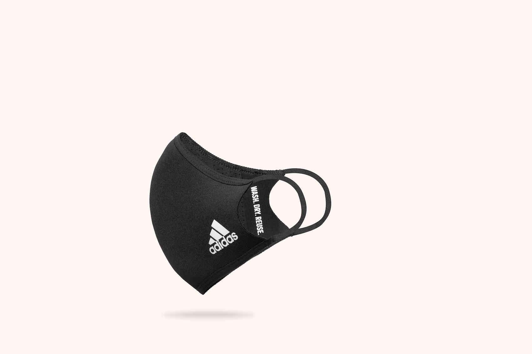 mundschutzmaske von adidas gegen Corona