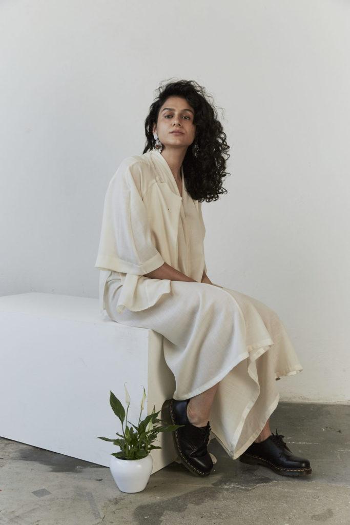 Neda Saeedi hat als Künstlerin bei der Ausstellung Memories of Now von arts perspectives mitgemacht.